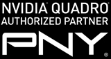 PNY NVIDIA Quadro Authorized Partner Lockup badge